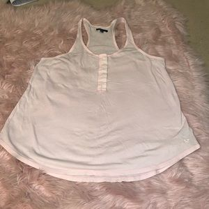 Light pink American Eagle tank top size large